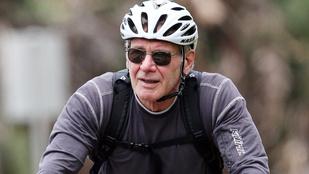Harrison Ford 73 éves, és sms-ezni tanul