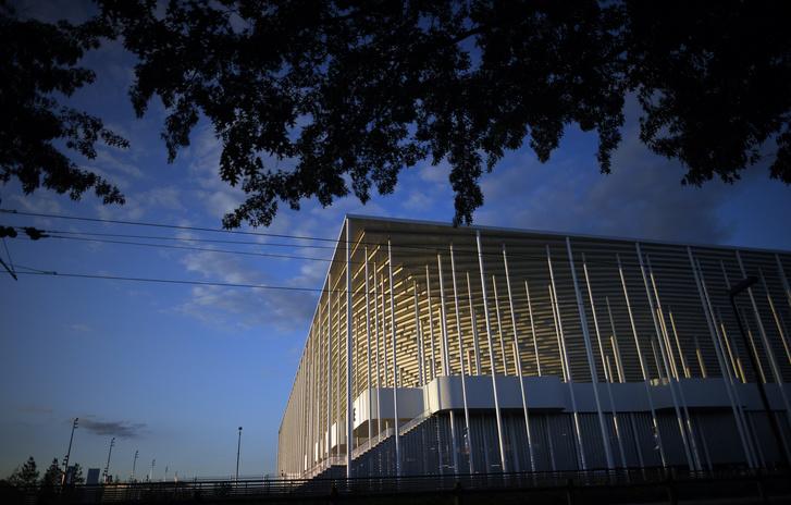Az új bordeaux-i stadion kívülről