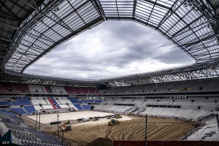 Januárra a lyoni stadion is elkészül