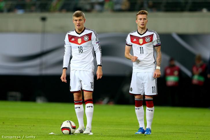 Toni Kroos és Marco Reus
