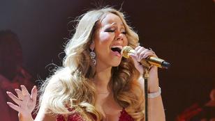 Mariah Carey másodpercek alatt rögtönzött egy új karácsonyi dalt