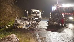 Szénné égtek a bicskei baleset áldozatai