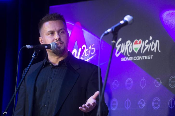 Pierott A Dal 2015 első tíz elődöntős produkciójának bemutatóján.