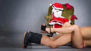 A télapóval dugást keresik a karácsonykor pornózók