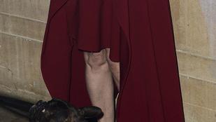 Ön szerint mégis mi mosolyog ránk Carrie Fisher térdéről?