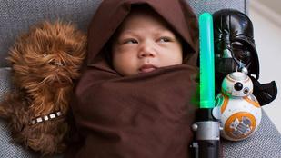 Mark Zuckerberg gyereke született jedi