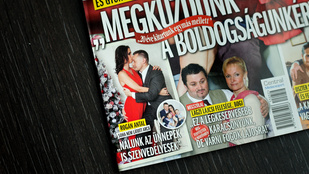 Rogán Antal a Story karácsonyi címlapján felesége fenekét markolja