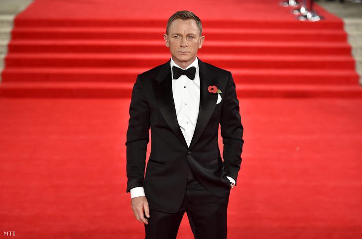 Craig a legújabb James Bond-film, A Fantom visszatér (Spectre) világpremierjén a londoni Royal Albert Hallban 2015. október 26-án.