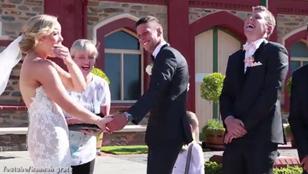 Kakiriadó szakította félbe az esküvőt