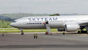 Tényleg bomba volt az Air France gépén