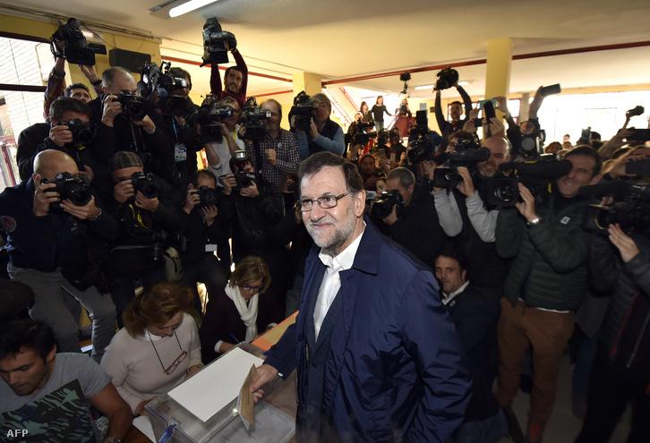 Mariano Rajoy, a PP vezetője