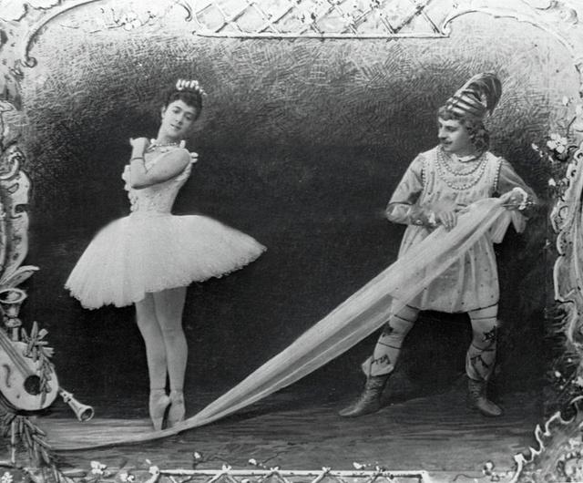 A diótörő 1892-es változatához készült fotó