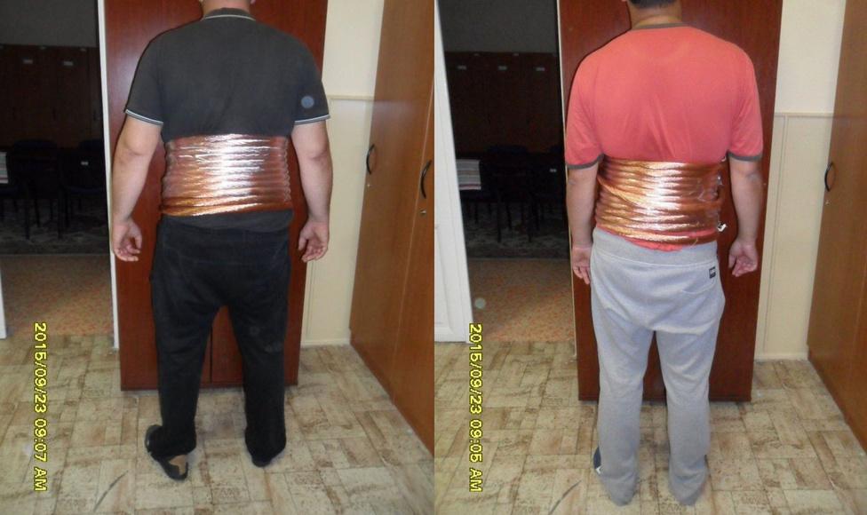 A tápiószelei Dolce és GabbanaTápiószelén a legújabb 2015-ös divat a rézsodrony volt. Ahogy a képen látszik, M. András és 35 éves társa a kellő lezserséggel és merészséggel hordott ebből 50 kilót teste köré csavarva. Szeptemberben ennyi rézvezetéket akartak így ellopni egy üzemből, de a biztonsági őrnek gyanúsak lettek. Miután a ruházatuk alá néztek, nem tudtak arra hivatkozni, hogy idén az eltúlzottan nagy kiegészítők hódítanak: lopás miatt indult ellenük eljárás.