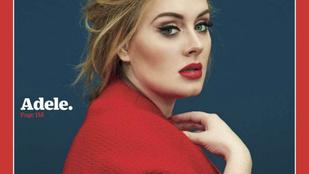 Egyértelmű, hogy ezzel a Time címlappal Adele megnyerte 2015-öt
