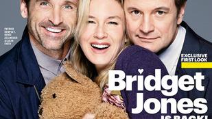 Végre egy csoportkép az új Bridget Jones új szereplőgárdájáról