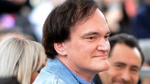 Fura kép: Tarantino csillagot kapott Hollywoodban