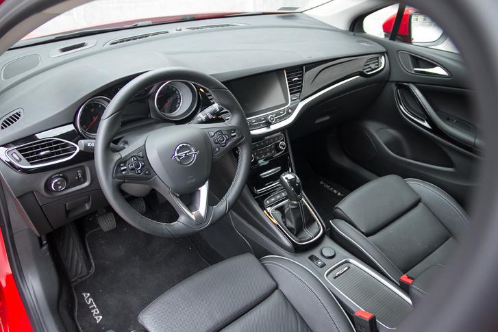 Az utóbbi években nagyot fejlődött az Opelek beltere