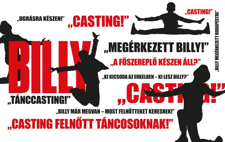 Billy Elliot - casting felnőtt táncosoknak