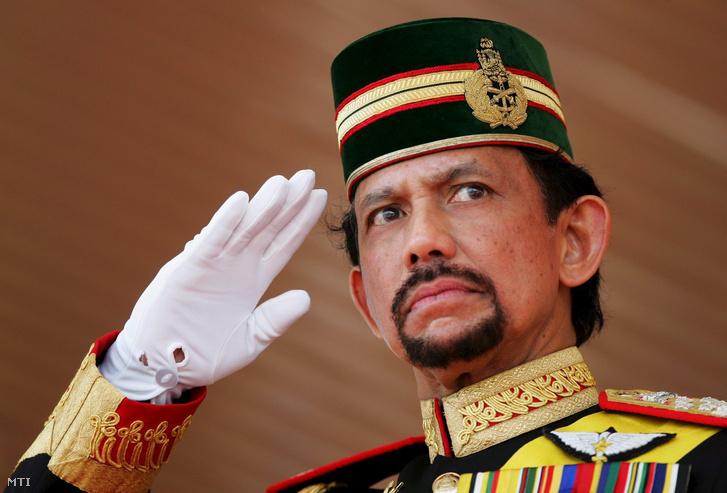 Haji Muda Hassanal Bolkiah Muizzaddin Waddaulah, Brunei szultánja