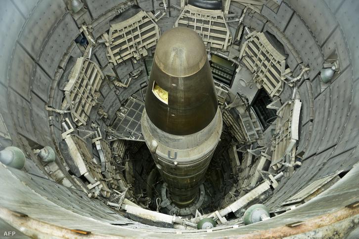Titan II ICBM rakéta az amerikai nukleáris elrettentő erő gerincét jelentette