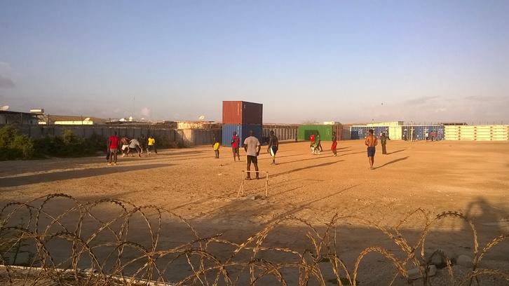 Esti focimeccsen az AMISOM katonái