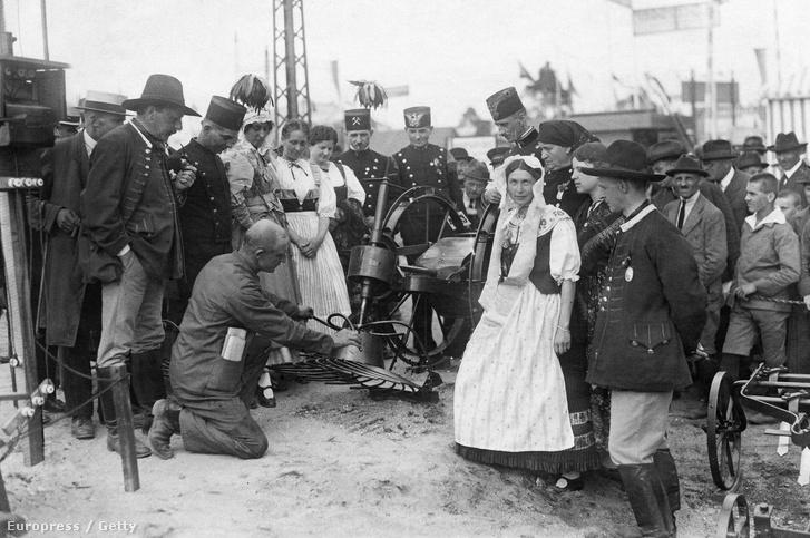 Vásár Nürnbergben, 1922