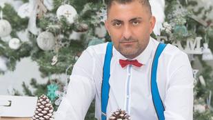 Gáspár Győző úgy tud boldog karácsonyt kívánni, mint senki más