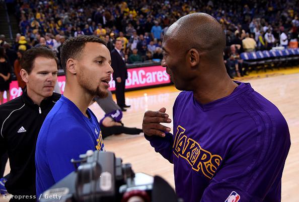 Curry és Kobe