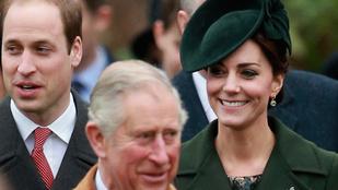 Katalin hercegnének a zöld is jól áll