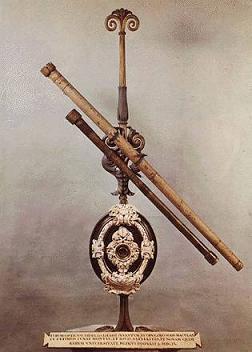 Galilei két távcsöve is Firenzében látható