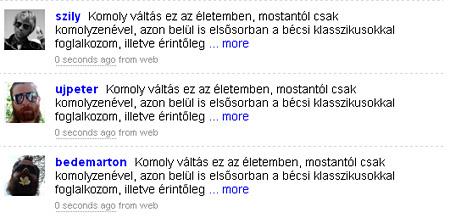 Indexes celebek a Wooferen