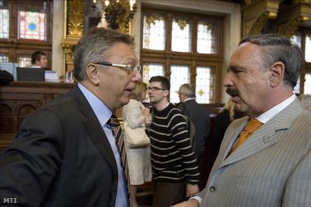 Lakos Imre és Bőhm András