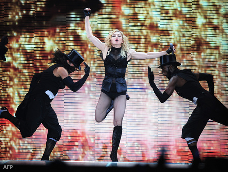 Madonna bukaresti koncertje