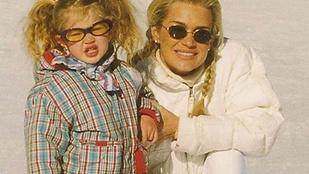 Gigi Hadidnak már gyerekként is ment a csücsörítés