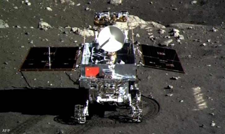 A Jáde Nyúl a Holdon, 2013. decemberében