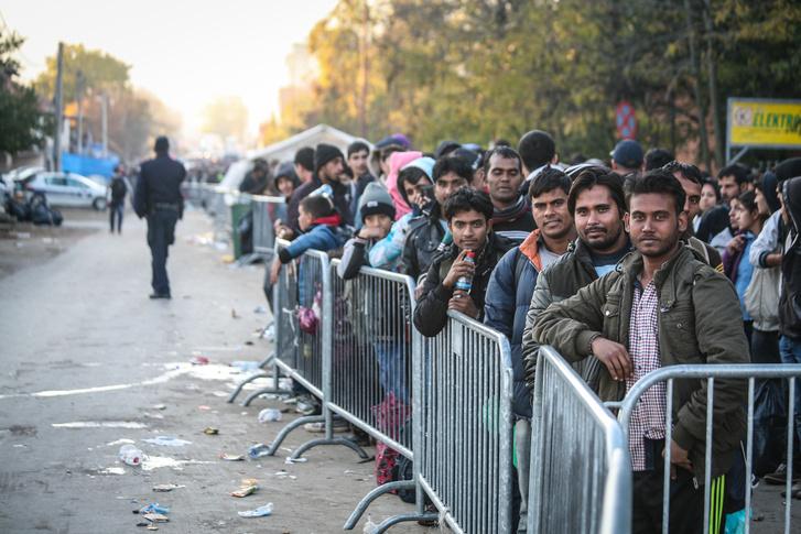 Sorbanállók a szerb-horvát határon