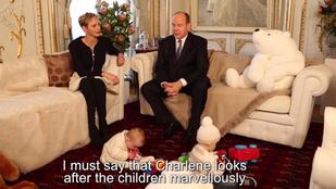 Íme egy újabb kisgyerekes uralkodói család, ezúttal a monacói