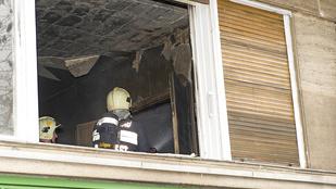 Kiégett egy lakás a II. kerületben