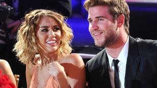 Miley Cyrus és Liam Hemsworth együtt szilveszterezett