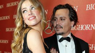 Johnny Depp felesége váratlanul gyönyörű