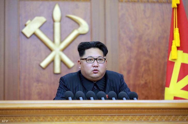 Kim Dzsongun január elsején újévi beszédet mond