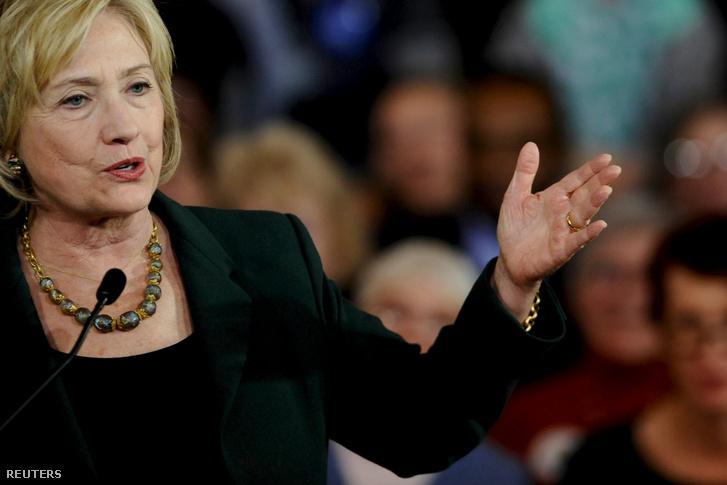 Hillary Clinton, a demokrata előválasztás favoritja az első női amerikai elnök lehet