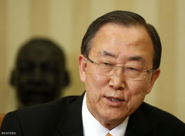 Ban Kimun ENSZ-főtitkár