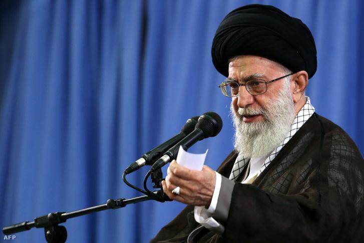 Ali Hoszajni Hámenei ajatollah, iráni legfőbb vallási vezető