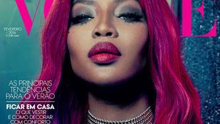 Ezt a címlapot Naomi Campbell sem akarhatta