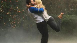 Christina Aguilera fotója nagyon szerelmes