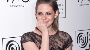 Kristen Stewart még csipkés szemeteszsákban is bájos