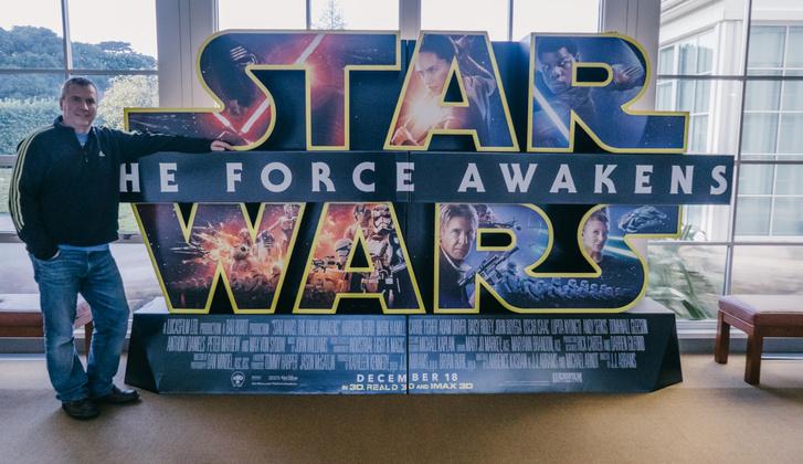 Gusztáv nagy Star Wars-rajongó, gyerekkori álma valósult meg azzal, hogy az ILM-hez került