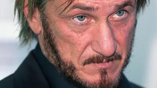 Sean Pennek végre megmondták, hogy úgy néz ki, mint egy csöves