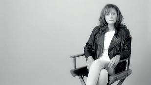 Susan Sarandon köszöni, szűrők nélkül is jó nő